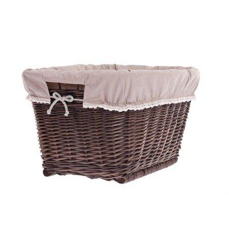 Wäschekorb aus Weide