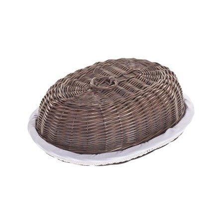 Chlebak owalny z obszyciem