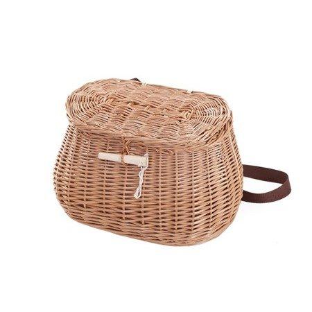 Wiklinowy kosz piknikowy / rybacki
